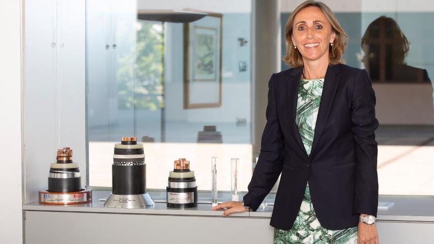 Eva Pagán, directora general de Transporte en Red Eléctrica de España (REE).