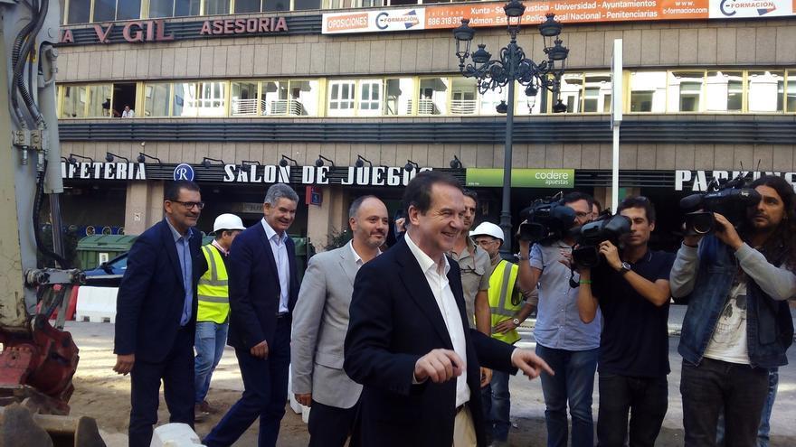 """Caballero vincula los """"muy malos resultados"""" del PSdeG con los cambios en las listas"""