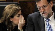 Rajoy envía a Sáenz de Santamaría a debatir con Sánchez, Iglesias y Rivera