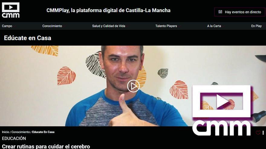 Interfaz de CMMPlay