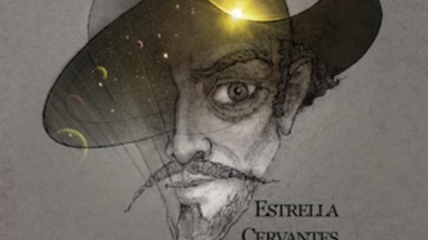 Imagen de la propuesta para dar el nombre de Cervantes a una estrella