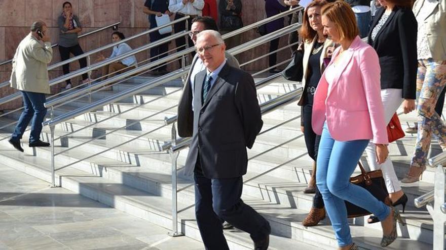 Martín Serón, el día en que se le comunicó que debía comenzar a cumplir condena // N.C.