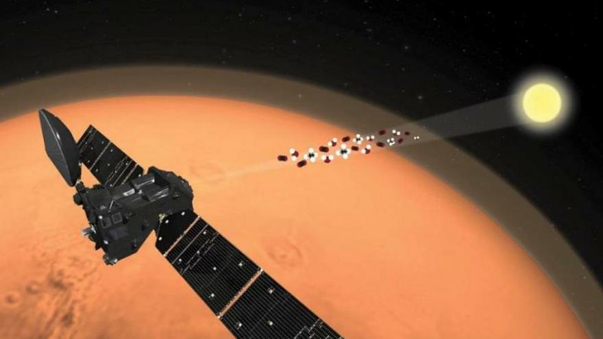 El satélite orbitador TGO de la misión ExoMars no encuentra metano en Marte