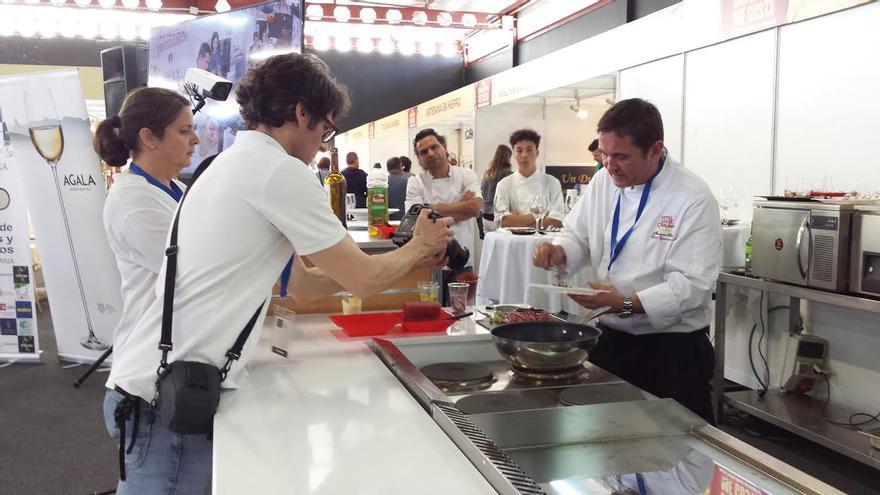 Grabación del Canal Cocina.