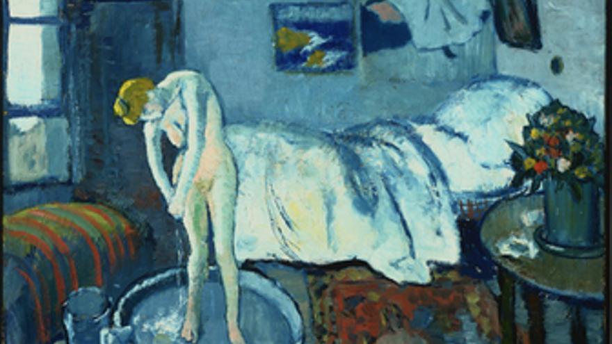 La habitación azul. Pablo Picasso