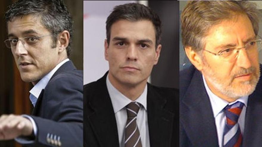 Madina, Pedro Sánchez, Pérez Tapias