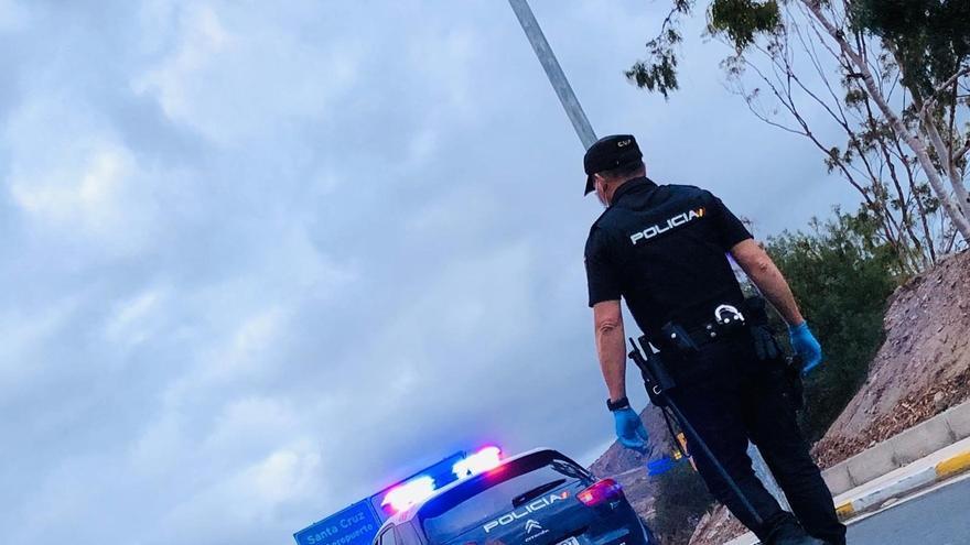 Control policial en Canarias