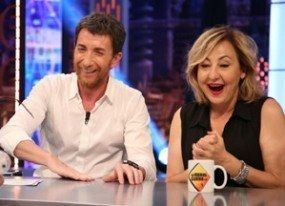 Carmen Machi se 'parte' viendo a su doble latinoamericana en 'Aída'