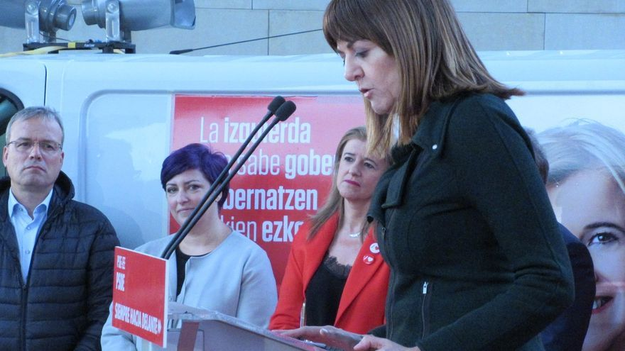 """Mendia (PSE) pregunta a PNV y a Podemos si aceptarán """"el envite"""" de EH Bildu de impulsar un nuevo estatus en junio"""