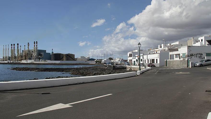 Central eléctrica de Las Caletas, Lanzarote (FELIPE DE LA CRUZ / DIARIO DE LANZAROTE)