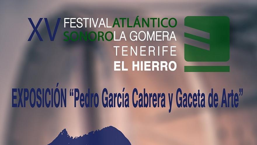 Cartel exposición Pedro García Cabrera