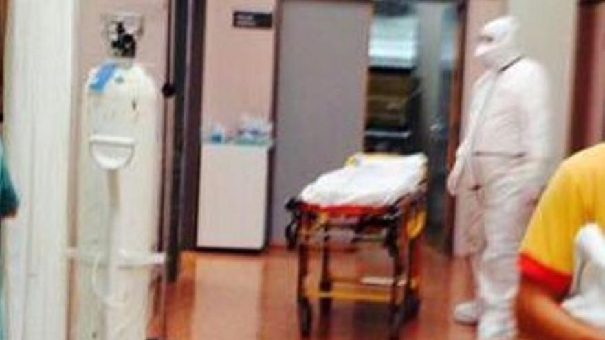 Imagen del personal sanitario (foto: DYA Alicante)