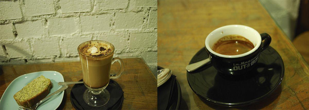 Díptico espresso y mocca primera visita_Malasaña a mordiscos_Toma café