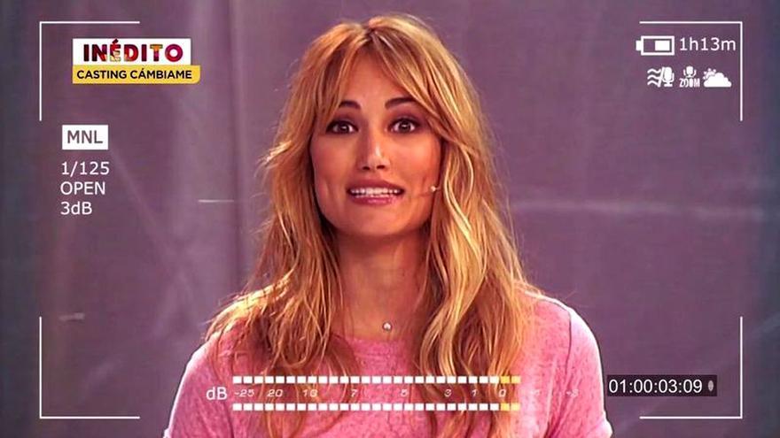 'Socialité' muestra el fallido casting de Alba Carrillo para presentar 'Cámbiame'