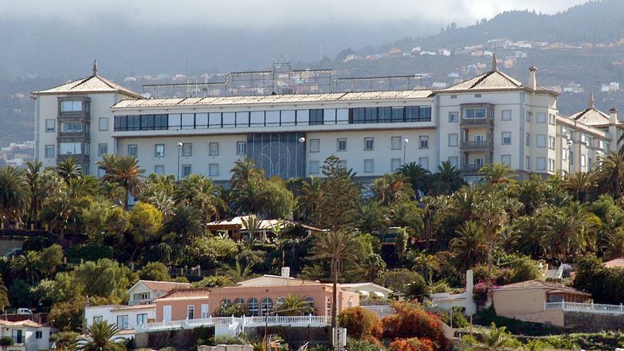 Imagen de archivo del antiguo hotel Taoro, en Puerto de la Cruz y con más de 100 años de existencia