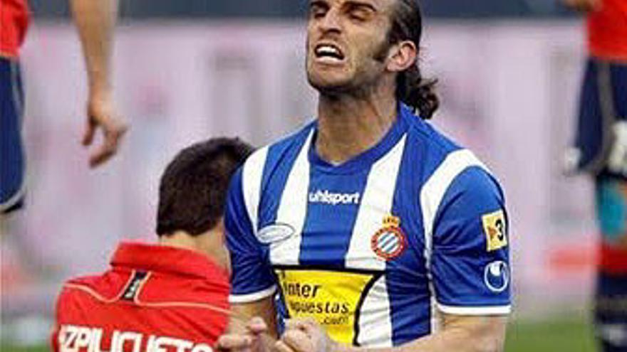 Iván Alonso, jugador del RCD Espanyol.