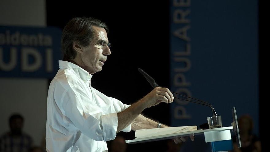 Aznar interviene este jueves en un mitin en Logroño