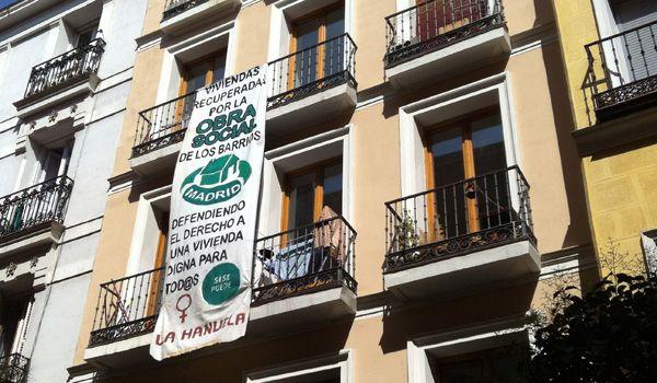 Edificio okupado 'La Manuela' | Foto: P. Horrillo