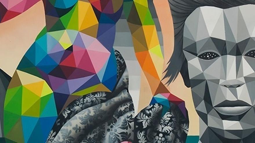 Okuda inaugura este mes una exposición en Lisboa