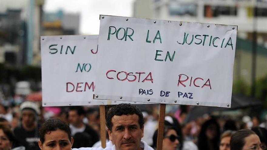Los homicidios en Costa Rica bajan el 21 por ciento durante el primer cuatrimestre de 2019