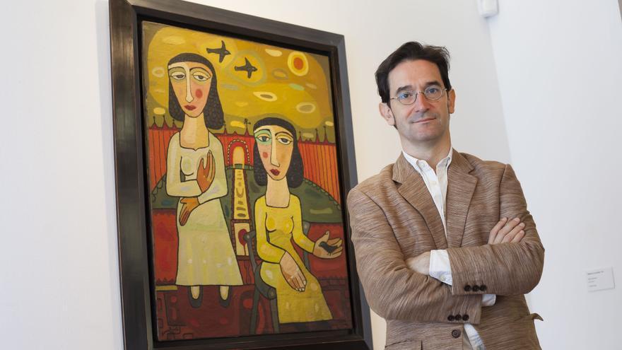 Alex Mitrani, comisario de la muestra montada en La Laguna