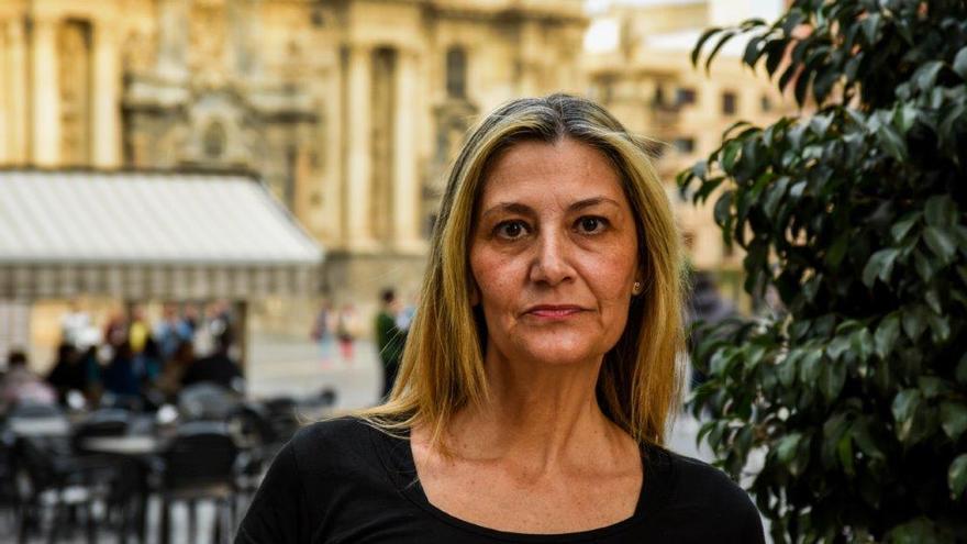 Conxa Borrell, secretaria general del sindicato OTRAS / Carlos Trenor