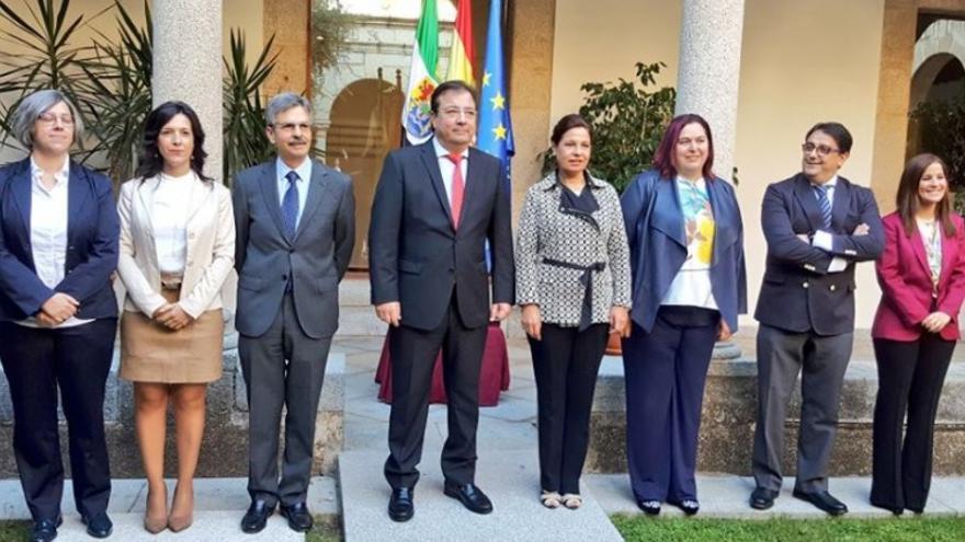 Acto de toma de posesión de los nuevos miembros del Consejo de Gobierno
