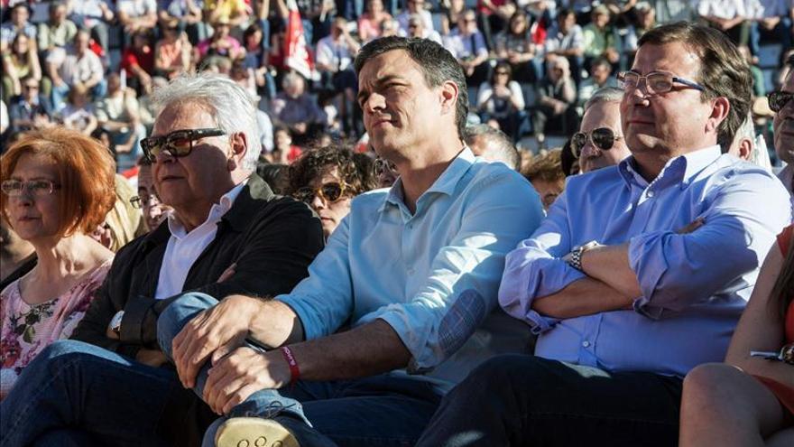 El PSOE se ve de nuevo el ariete del cambio sobre el que pivotarán los pactos