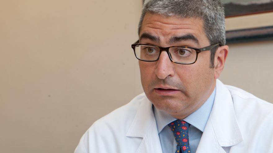 El doctor de la Clínica Universidad de Navarra, Adrián Cano / Foto: cedida.