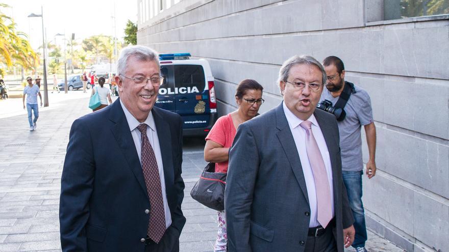 Emilio Fresco en el juicio de Las Teresitas (Aarón S. Ramos)