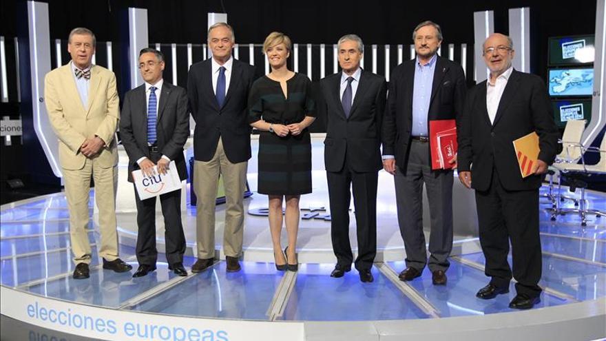 Crisis, bipartidismo y Cataluña, temas de arranque del debate a seis