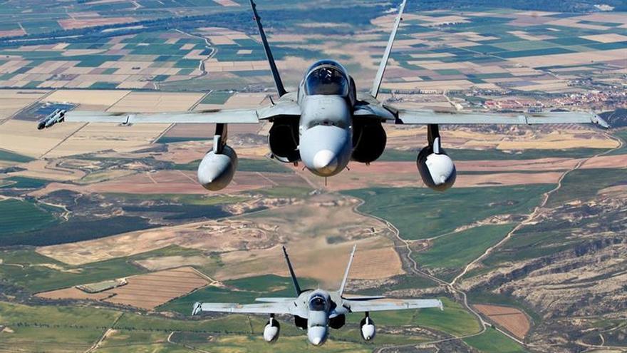 Cinco cazas F-18 a Estonia para controlar las incursiones rusas en los países del báltico