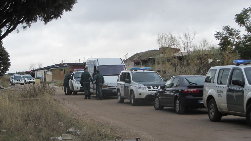 Desalojo 'El Cavero'. Foto (4): Diego Jimeno Manrique