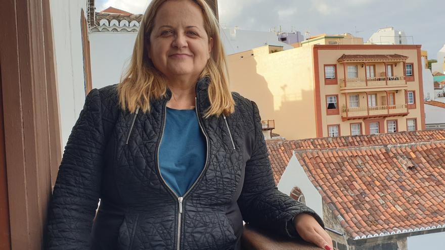 Dilcia Díaz López es la presidenta de Frida La Palma.