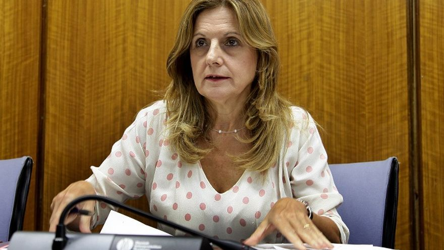 Marina Álvarez, consejera andaluza de Salud