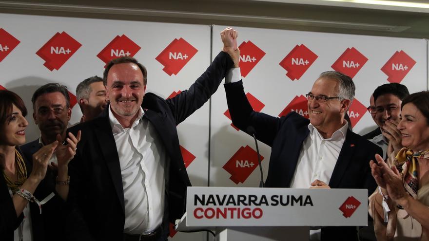 Navarra Suma arrebata un escaño a EH Bildu y consigue 20 parlamentarios e Izquierda-Ezkerra mantiene el suyo