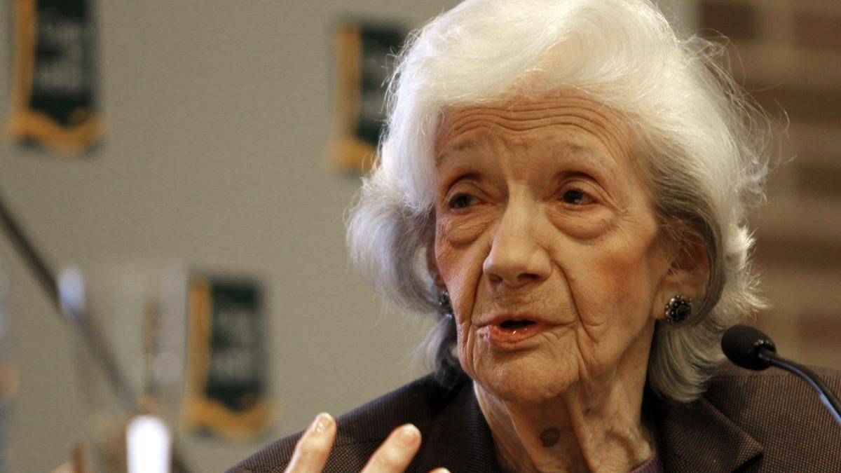 La escritora Ana María Matute. EFE/Albert Olivé/Archivo