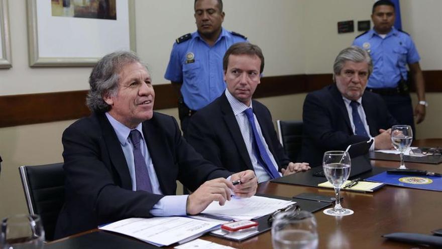Almagro se reúne con líderes campesinos que se oponen al canal en Nicaragua