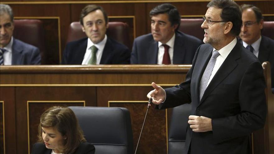"""Rajoy dice que los españoles pueden creer en """"su palabra"""", también sobre el 9N"""
