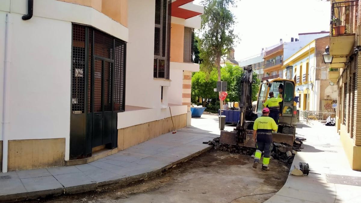 Reforma de las calles Ramírez de las Casas Deza y Carbonell y Morand.