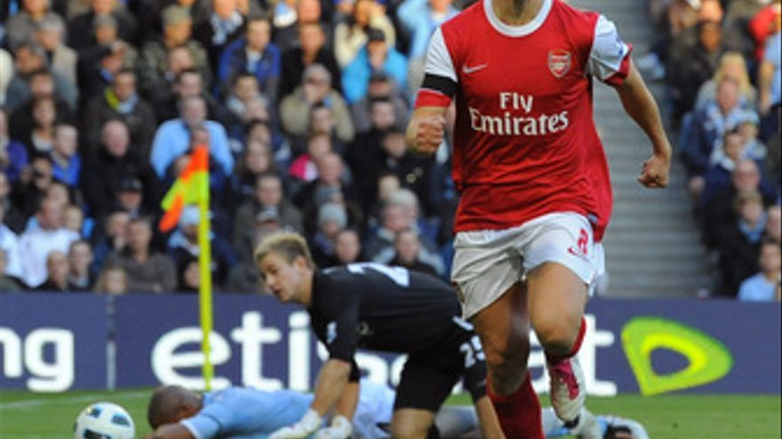 El Arsenal vence al Manchester City