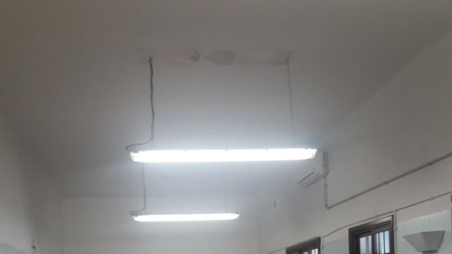 El Laboratorio cuenta con una nueva instalación eléctrica.
