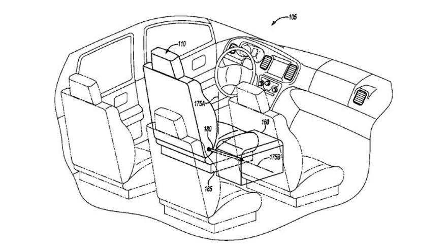 Los coches sin conductor podrían transformarse en salones sobre ruedas