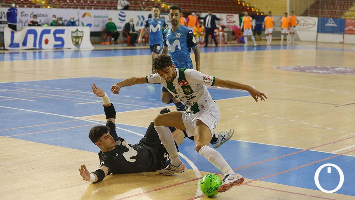 Zequi, en una acción de gol en Vista Alegre.