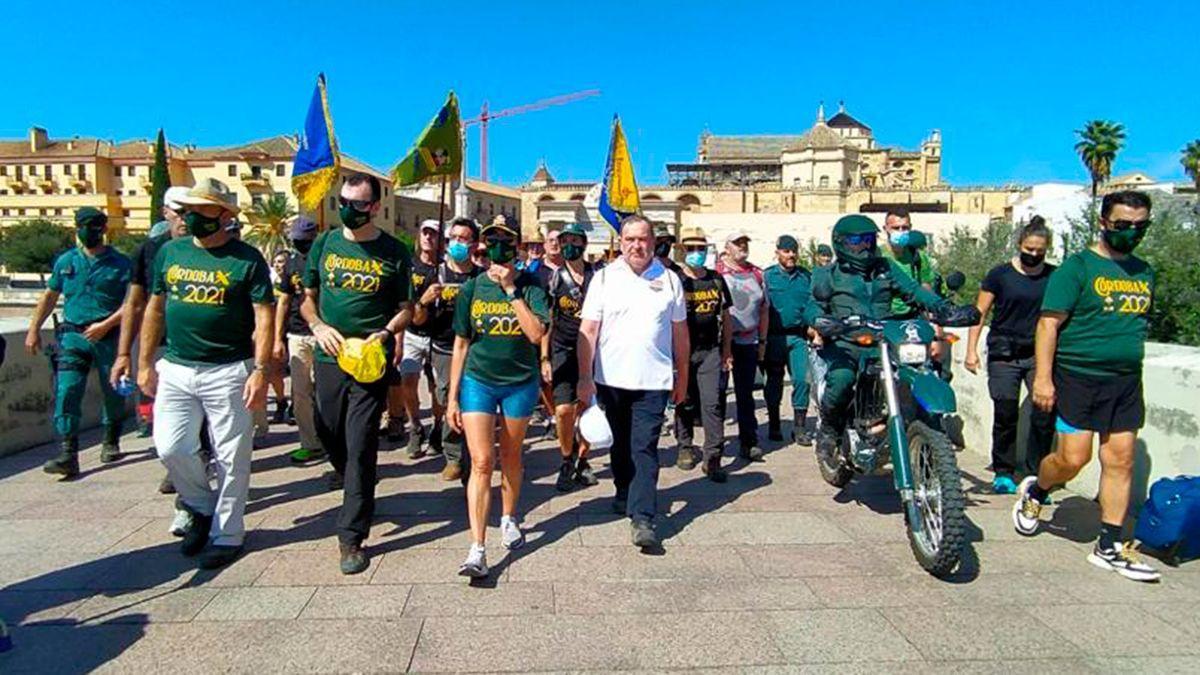 Camino Mozárabe dentro de los actos en Córdoba por la patrona de la Guardia Civil