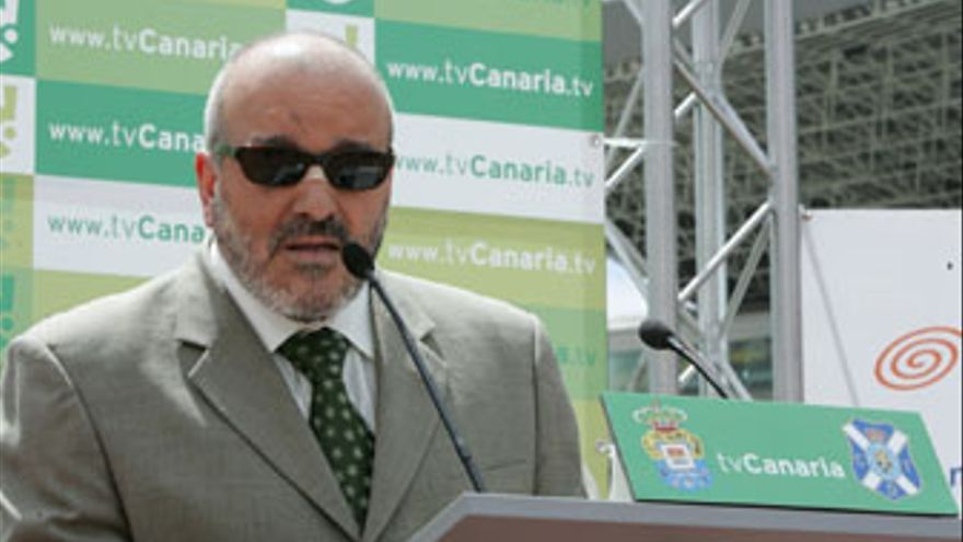 Miguel Concepción, presidente del CD Tenerife. (QUIQUE CURBELO)