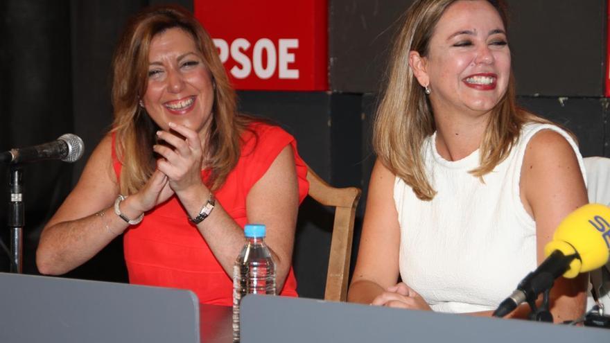 Susana Díaz en Lanzarote