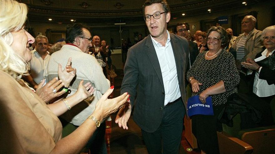 """Feijóo dice que hoy es """"más necesario que nunca"""" reformar la Ley Electoral"""