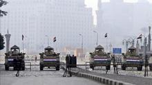 Varios muertos en Egipto en el aniversario de las protestas que acabaron con Mubarak
