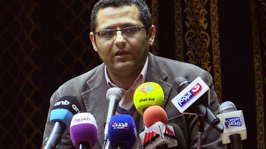 Detienen al presidente y al vicepresidente del Colegio de Periodistas de Egipto